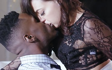 Unforgettable steamy interracial sex with naughty Whitney Wright