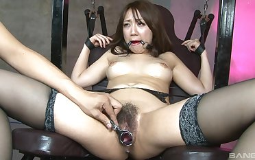 Asian slut endures on just a simple maledom
