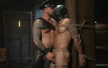 Gay men mean business when it comes to brutal BDSM