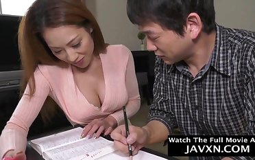 Out-and-out Japanese Mommy And Stepson Studyi - HD motion picture