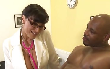 Adulterate Housewife Lisa Ann together with Black Dude Flash Unilluminated