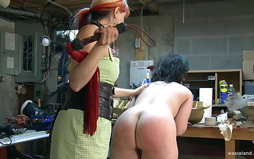Dirty membrane of BDSM style sex with a slave and her dominant master