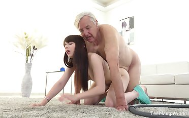 Excellent sex scenes helter-skelter grandpa and the trashy young niece