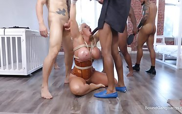 Exotic cougar takes multiple dicks for a wild serfdom spin