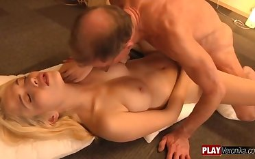 Rapt Boyfriend Tiffany Foxx old and young hardcore action
